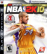 NBA 2K10 PS3 cover (BLUS30402)