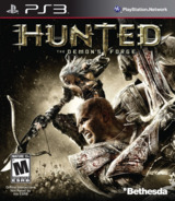 Hunted: The Demon's Forge PS3 cover (BLUS30406)