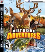 Cabela's Outdoor Adventures PS3 cover (BLUS30409)