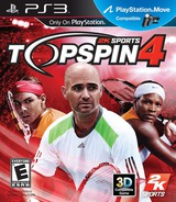 Top Spin 4 PS3 cover (BLUS30427)