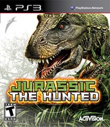 Jurassic: The Hunted PS3 cover (BLUS30435)