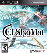 El Shaddai: Ascension of the Metatron PS3 cover (BLUS30466)
