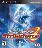 Dynasty Warriors: Strikeforce PS3 cover (BLUS30471)
