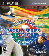Little League World Series Baseball 2010 PS3 cover (BLUS30513)