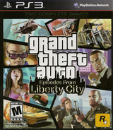 Grand Theft Auto: Episodes from Liberty City PS3 cover (BLUS30524)