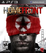 Homefront PS3 cover (BLUS30530)