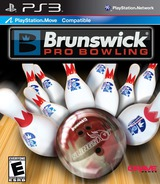 Brunswick Pro Bowling PS3 cover (BLUS30532)
