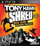 Tony Hawk: Shred PS3 cover (BLUS30542)