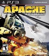 Apache: Air Assault PS3 cover (BLUS30555)