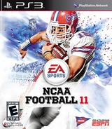 NCAA Football 11 PS3 cover (BLUS30560)