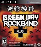 Green Day: Rock Band Plus PS3 cover (BLUS30573)