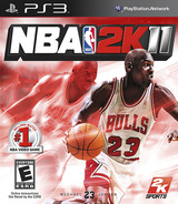 NBA 2K11 PS3 cover (BLUS30574)