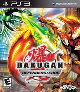 Bakugan: Defenders of the Core PS3 cover (BLUS30577)