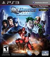 DC Universe Online PS3 cover (BLUS30583)
