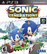 Sonic Generations PS3 cover (BLUS30612)