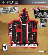 Power Gig: Rise of the Six String PS3 cover (BLUS30622)