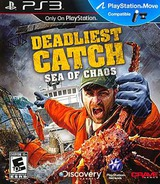 Deadliest Catch: Sea of Chaos PS3 cover (BLUS30633)