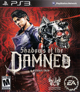 Shadows of the Damned PS3 cover (BLUS30653)