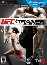 UFC Personal Trainer: The Ultimate Fitness System PS3 cover (BLUS30693)