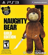 Naughty Bear Gold Edition PS3 cover (BLUS30700)