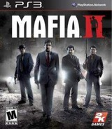 Mafia II PS3 cover (BLUS30712)