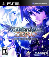 Record of Agarest War Zero (Limited Edition) PS3 cover (BLUS30748)