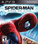 Spider Man Edge Of Time PS3 cover (BLUS30760)