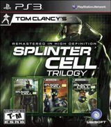 Tom Clancy's Splinter Cell Trilogy PS3 cover (BLUS30761)
