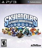 Skylanders Spyro's Adventure PS3 cover (BLUS30779)