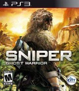 Sniper Ghost Warrior PS3 cover (BLUS30796)