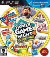 Family Game Night 4: The Game Show PS3 cover (BLUS30802)