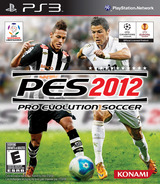 Pro Evolution Soccer 2012 PS3 cover (BLUS30805)