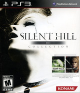 Silent Hill: HD Collection PS3 cover (BLUS30810)