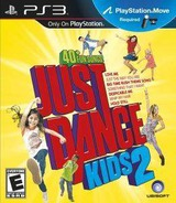 Just Dance Kids Two PS3 cover (BLUS30816)