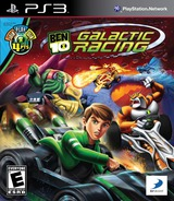 Ben 10: Galactic Racing PS3 cover (BLUS30822)