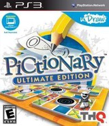 Pictionary: Ultimate Edition PS3 cover (BLUS30825)