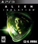Alien: Isolation PS3 cover (BLUS30832)