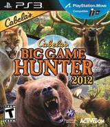 Cabela's Big Game Hunter 2012 PS3 cover (BLUS30843)