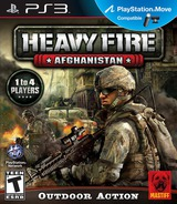 Heavy Fire: Afghanistan PS3 cover (BLUS30856)