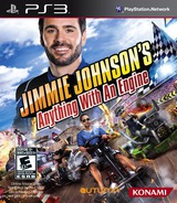 Jimmie Johnson's Anything With an Engine PS3 cover (BLUS30897)