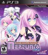Hyperdimension Neptunia mk2 PS3 cover (BLUS30901)