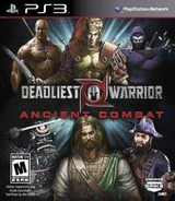 Deadliest Warrior Ancient Combat PS3 cover (BLUS30911)
