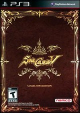 SoulCalibur V (Collector's Edition) PS3 cover (BLUS30918)