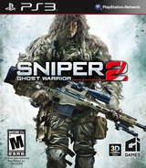 Sniper: Ghost Warrior 2 PS3 cover (BLUS30919)