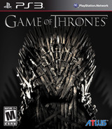 Game of Thrones PS3 cover (BLUS30939)