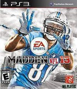 Madden NFL 13 PS3 cover (BLUS30973)