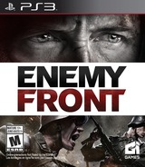 Enemy Front PS3 cover (BLUS30996)