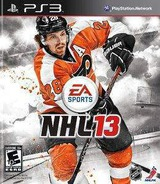 NHL 13 PS3 cover (BLUS31003)