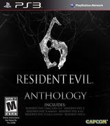 Resident Evil 6 Anthology PS3 cover (BLUS31005)