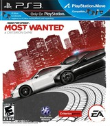 Need for Speed: Most Wanted PS3 cover (BLUS31010)